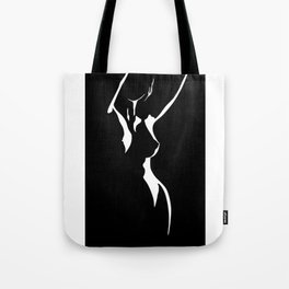 Nude Shadow Tote Bag