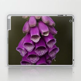 Wild summer purple flowers Laptop & iPad Skin