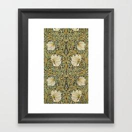 William Morris Pimpernel Art Nouveau Floral Pattern Framed Art Print