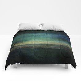 Ship on Ocean Comforters