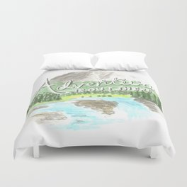 """""""Adventure is Out There!"""" - Up, Pixar Duvet Cover"""