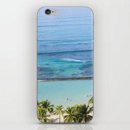Waikiki Aerial // Vertical iPhone Skin