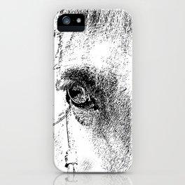 Eye of Horse iPhone Case