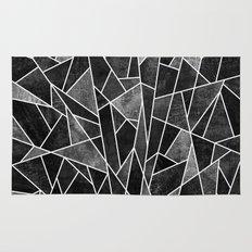 Shattered Black Rug