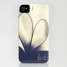 I Heart Books iPhone (4, 4s) Slim Case