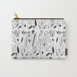Giant Leaves Pattern Carry-All Pouch