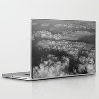 cloud Laptop & iPad Skins featuring cloud by habish