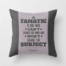 Fanatic Throw Pillow