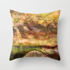 Le passage Throw Pillow