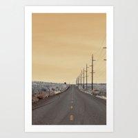 journey Art Prints featuring JOURNEY by Teresa Chipperfield Studios