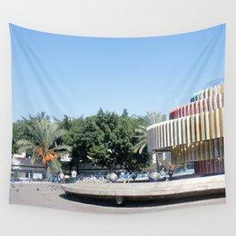 Tel Aviv photo - Dizengoff Square Wall Tapestry