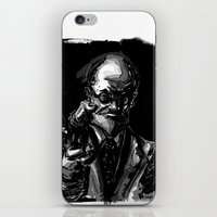 freud iPhone & iPod Skins featuring Freud by Long Live The Doughnuts