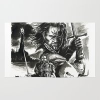 aragorn Area & Throw Rugs featuring Aragorn by Juan Pablo Cortes