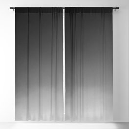 Grayscale Blackout Curtain