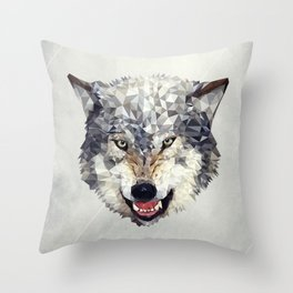Lobo Throw Pillow