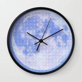 Magick Square Moon Invocation Wall Clock