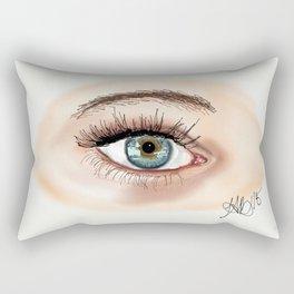 Window of the soul Rectangular Pillow