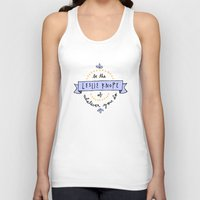 leslie knope Tank Tops featuring Be the Leslie Knope of Whatever You Do by Liana Spiro