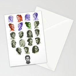 33 - Millennials vs. Gen X Stationery Cards