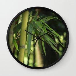 Bamboo Thicket Wall Clock