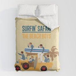 Surfin Safari Comforters