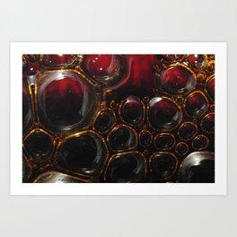 Passion Bubbles Art Print