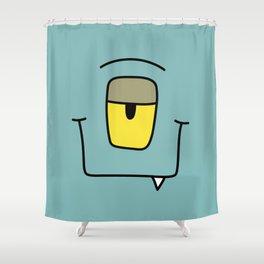 Monster - Kaa Shower Curtain