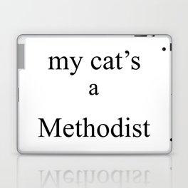 My Cat's a Methodist Laptop & iPad Skin