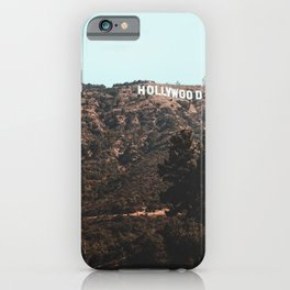 Hollywood CA iPhone Case