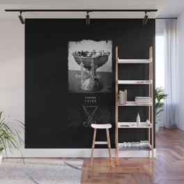 InverTed Cross Wall Mural