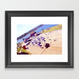 Cockatoo Island Framed Art Print