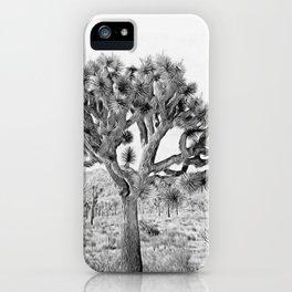 Joshua Tree Giant by CREYES iPhone Case