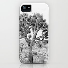 Joshua Tree Giant by CREYES iPhone Case