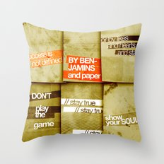 art 2 Throw Pillow