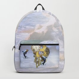Alphabet-Monogram B Backpack