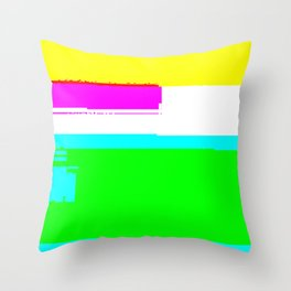 Unstable child Throw Pillow