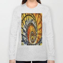 Spiral Staircase Van Gogh Long Sleeve T-shirt