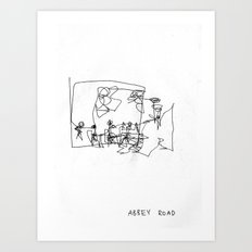 Abbey Road (?) Art Print