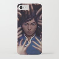 the legend of korra iPhone & iPod Cases featuring Korra by Meder Taab