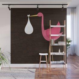 Stork Wall Mural