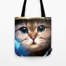 Cat astronaut Tote Bag