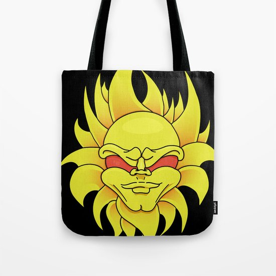 Mean Sun Tote Bag