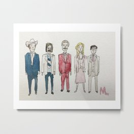 Anchorman Metal Print