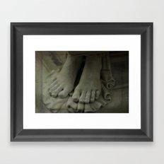 StoneFeet2 Framed Art Print