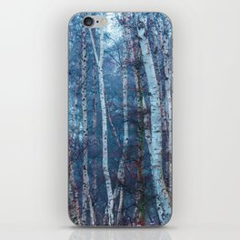 Dense Birch iPhone Skin