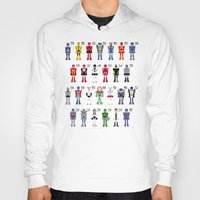 transformers Hoodies featuring Transformers Alphabet by PixelPower