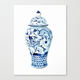 GINGER JAR NO 7  Canvas Print