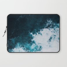 Wild ocean waves II Laptop Sleeve