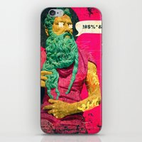 titan iPhone & iPod Skins featuring Titan by Alec Goss