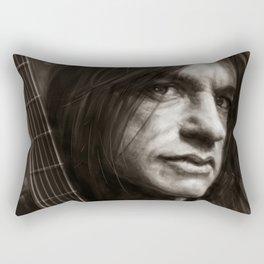 Malcolm Young Rectangular Pillow